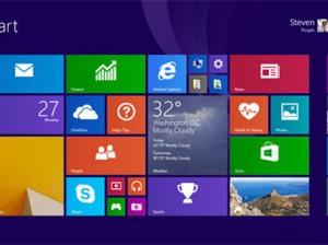 Стартовый экран Windows 8.1 Update 1